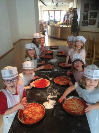 Pizza Maker Kidss Party Picture Of Pizza Express Sutton