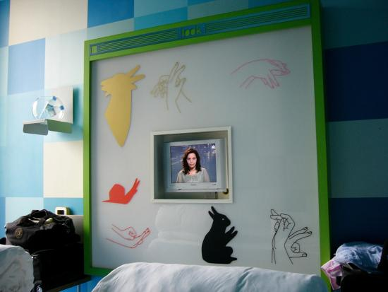 Spity Hotel Nice : Chambre