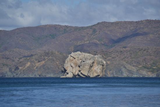 Santa Rosa National Park: roca bruja