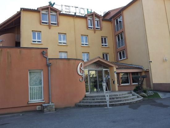 Cevenol Hotel: vue du parking
