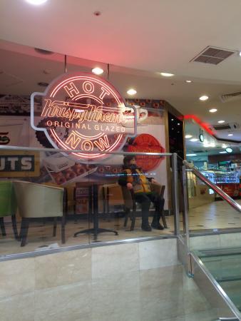 Krispy Kreme Doughnuts Sogong: Entrance