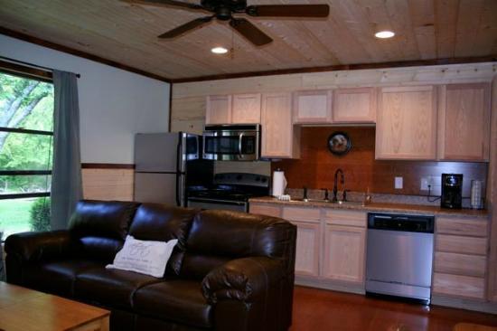 Sunset Farm Cabins: Inside our Fox Cabin
