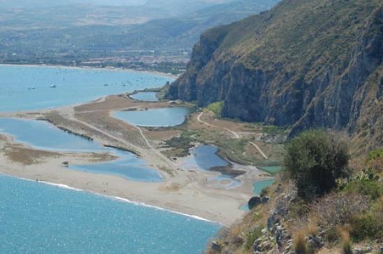I laghetti di marinello visti dal santuario di tindari for Immagini di laghetti