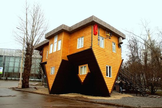 ‪Upside Down House‬