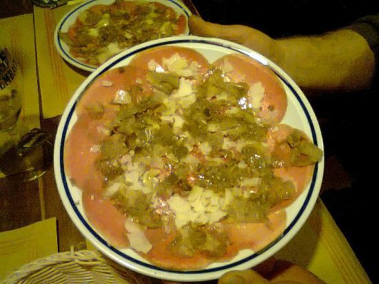 Hungry Years: carpaccio al tartufo
