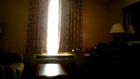 Clarion Inn University: Pic taken from Bed =)