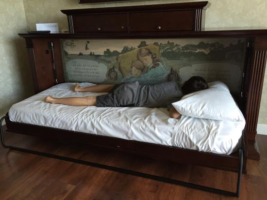 Child Sized Fold Down Bed Picture Of Disney S Grand Floridian