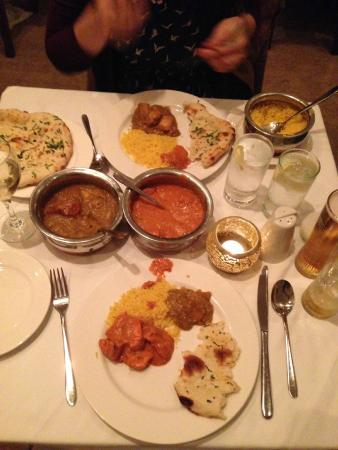 Paradise Hampstead Indian: Curry time