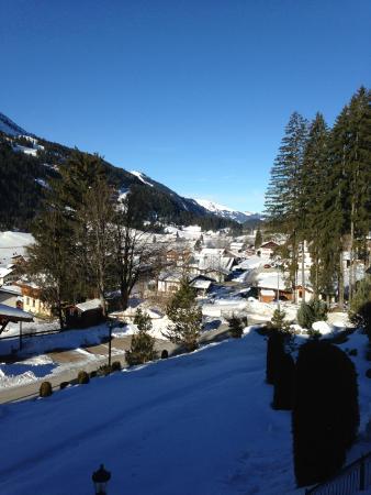 Sunneschlossli Tannheimer Tal: View from Balcony