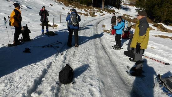 Albergo Croce Bianca: Im Schnee