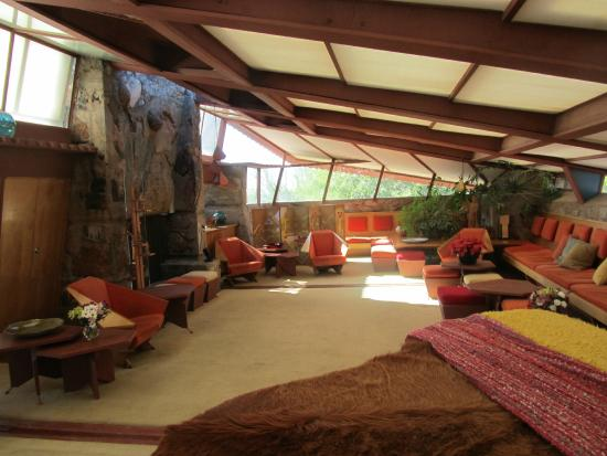 living room Picture of Taliesin West Scottsdale TripAdvisor