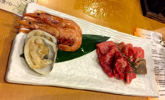 Mizu no To : 夕食