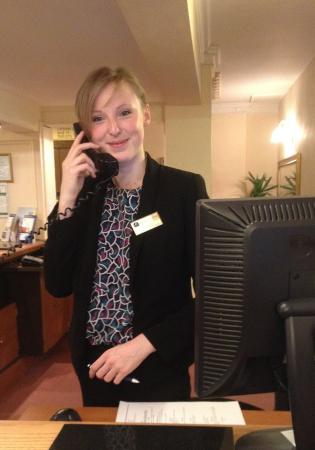 Best Western Banbury House Hotel : Sweet Receptionist Dorota