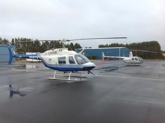 Florence, Oregón: Wet Day on Ramp