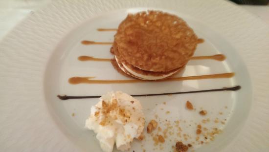 La Vieille Auberge : Craquelin au caramel