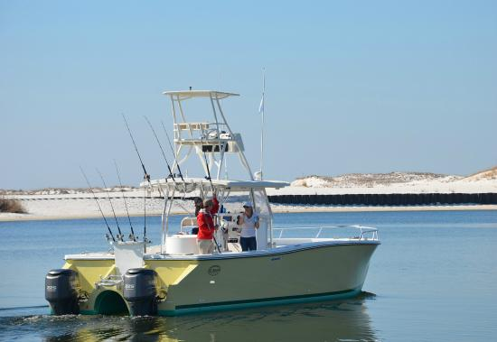 On the way out picture of blue crab fishing charters for Blue crab fishing