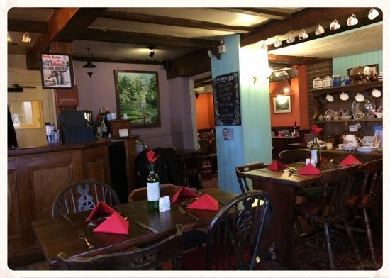 Classic Country Pub Interior Fotograf A De Dog And Crook Eastleigh