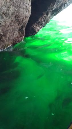 Evolution Expedition Kayak Tours - Day Tours : Beautiful emerald green water.