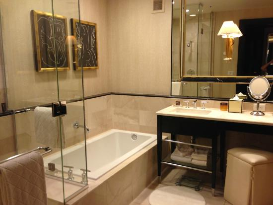 Shower tub area bathroom picture of encore at wynn las - Bathroom remodeling las vegas nv ...