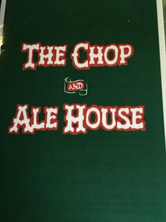 Champany Inn: Chop and Ale house