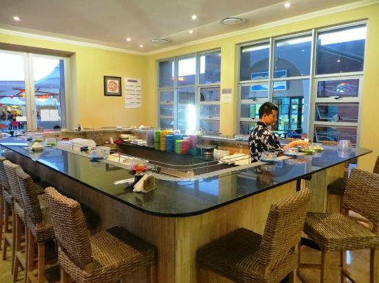 Sushi Bar Picture Of Kung Fu Kitchen Centurion Tripadvisor