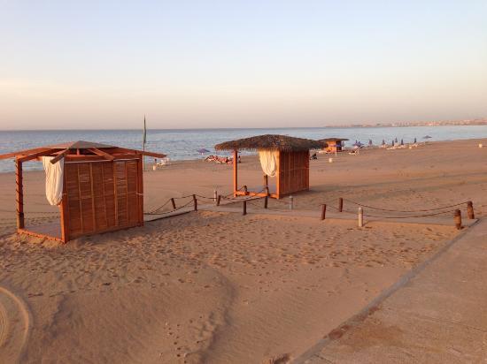 Staoueli, Algeria: La plage privée