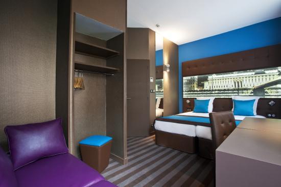 Hotel des Savoies Lyon: Chambre Familiale. Jusqu'a 4 personnes
