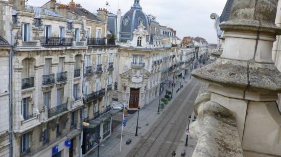 Best Western Hotel D'Arc : Vista desde nuestra habitacion