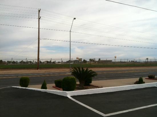 Blue Mist Motel: Prison view