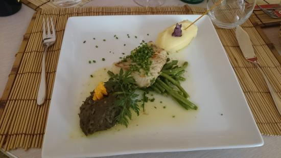 La Menthe Poivrée : Dos de lieu noir ( cuit à la perfection)
