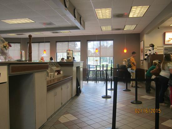 Chick-fil-A : ordering area