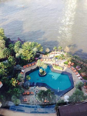 โรงแรมแชงกรี-ลา กรุงเทพฯ: View from room xxx