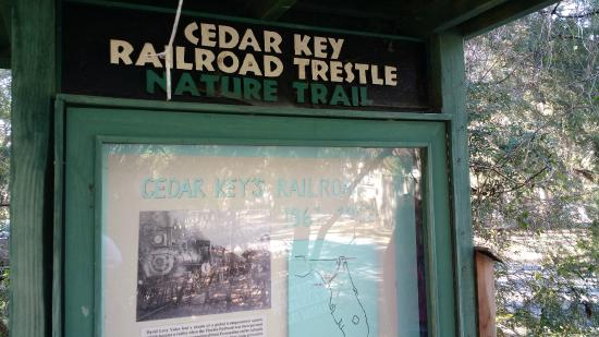 ‪Cedar Key Railroad Trestle Nature Trail‬