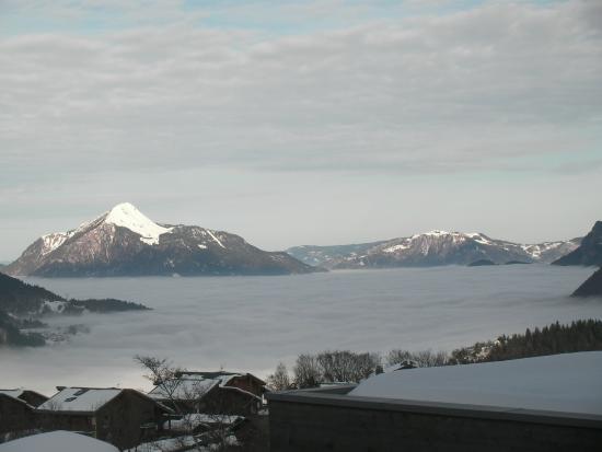 la Croix de Savoie: Vue de la chambre