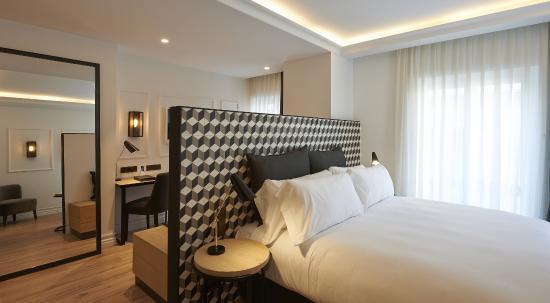junior suite bild von hotel the serras barcelona. Black Bedroom Furniture Sets. Home Design Ideas