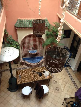 Riad Tarzout : Vue de la Terrasse