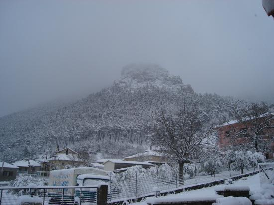 Το κάστρο χιονισμένο