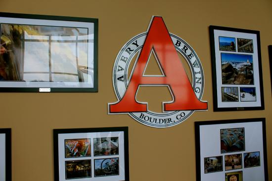 Avery Brewing Company: The entryway.