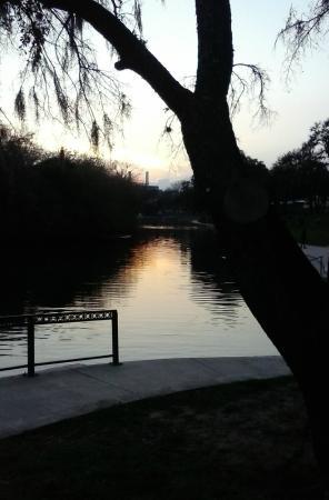 Comal River: The Comal at Dusk