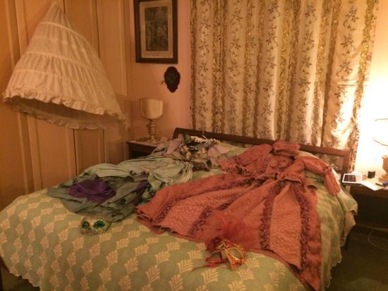 """Palazzetto da Schio: Masterbedroom of Apt. #5 """"before Il Ballo del Doge"""""""