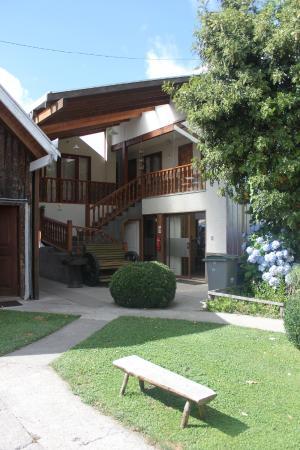 Hostal y Cabanas Don Juan : Patio Sur