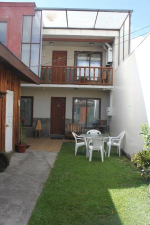 Hostal y Cabanas Don Juan : Patio Norte