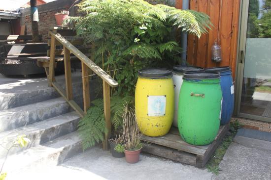 Hostal y Cabanas Don Juan : Reciclaje
