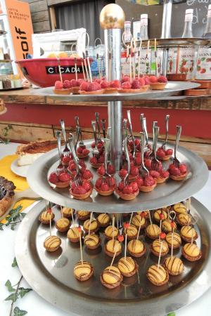 Villa Schmidt petites bouchées de dessert photo de villa schmidt kehl tripadvisor