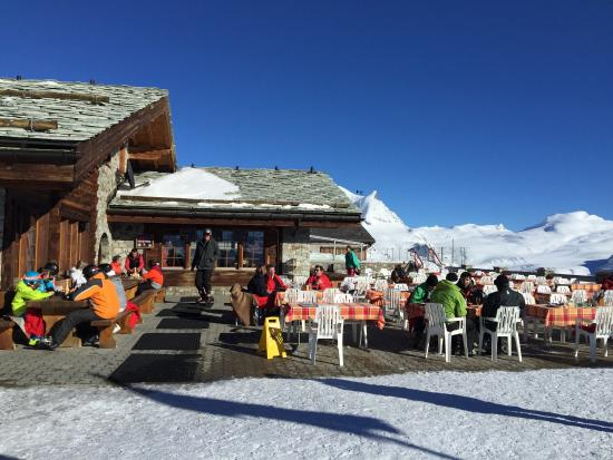 Rothorn Ristorante Pizzeria : Restaurant at the top: Rothorn Paradise