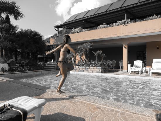 Hotel Villa del Sole: Poolanlage