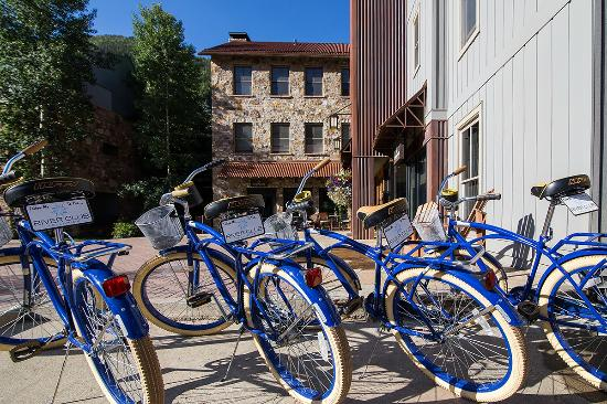 The River Club Condos: Bike around Telluride on The River Club's Cruisers