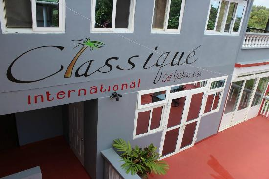 Classique International: Fabulous clean guesthouse