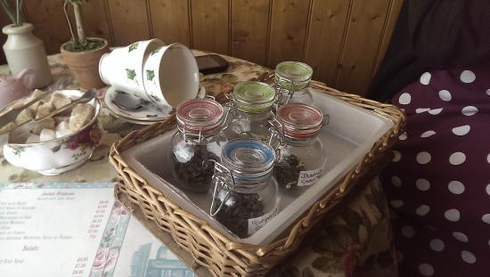 Strand Teahouse and Eatery: Tea Selection