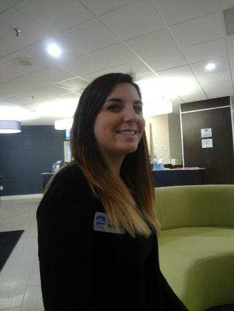 Best Western Plus Hanes Mall Hotel : An employee named Lindsey that was very helpful
